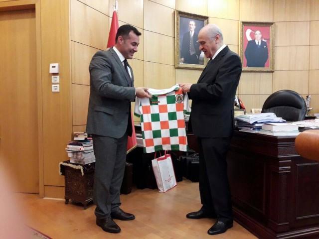 24 Mayıs'ta MHP Genel Başkanı Alanya'ya gelerek bir çok eserin açılış ve temel atma törenini gerçekleştirmişti.