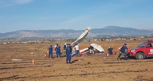 Antalya'nın Manavgat ilçesinde düşen Cessna 150 tipi eğitim uçağında hayatını kaybeden pilot ve yardımcısının isimleri belli oldu.