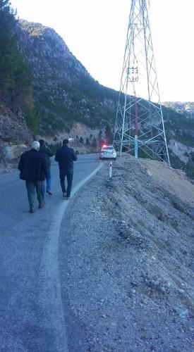 Jandarma kazayla ilgili soruşturma başlattı.