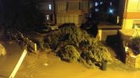 İşte Alanya'dan yağmur sonrası çarpıcı kareler