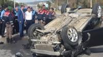 MHP Alanya konvoyu kaza yaptı
