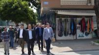 MHP'li Türkdoğan kapı kapı dolaşıyor