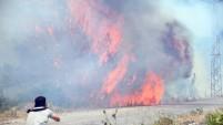 İşte saniye saniye Alanya'daki korkunç yangın