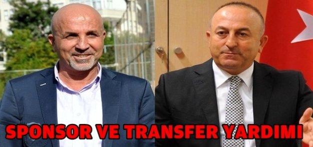 ÇAVUŞOĞLU'NA TRANSFER TEŞEKKÜRÜ