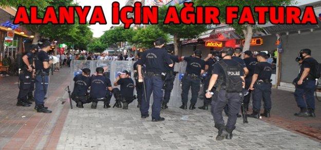 DÜN GECENİN BİLONÇOSU: 1'İ POLİS 15 YARALI