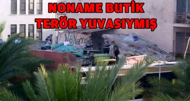 KAPATILAN 'NONAME' BUTİK'İN ÇATISINDA BAKIN NE BULUNDU?