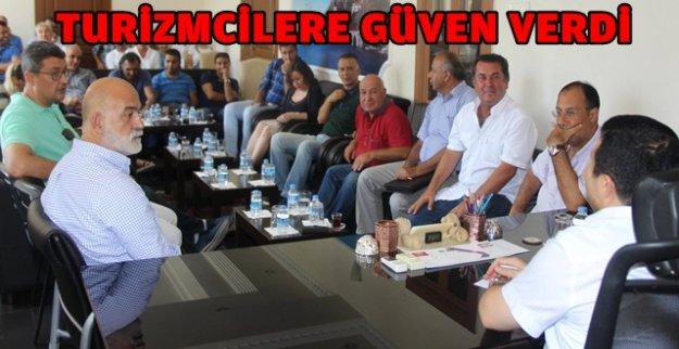 'KİMSE PANİĞE KAPILMASIN GÜVENLİK SORUNU YOK'
