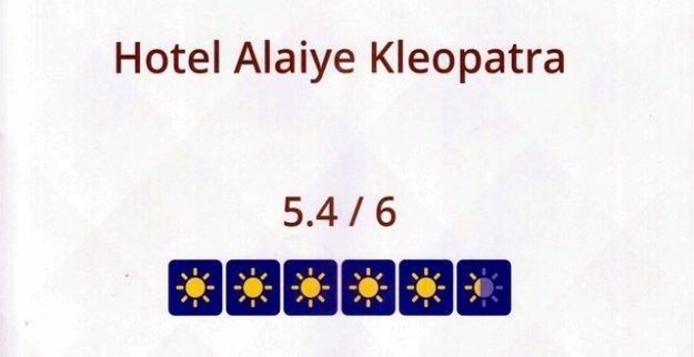 ALAİYE HOTEL'DEN BİR BAŞARI DAHA