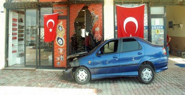 İŞ YERİ VE OTOMOBİL KUNDAKLANDI