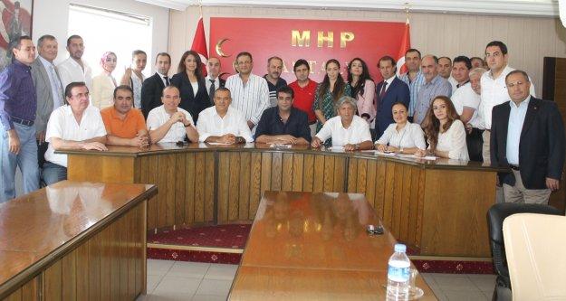 """MHP'DEN 'İKTİDAR"""" SÖZÜ"""