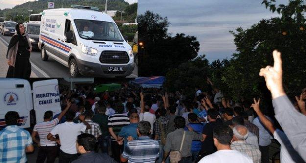 PATLAMADA ÖLENLERİN CENAZESİ ALANYA'YA GETİRİLDİ