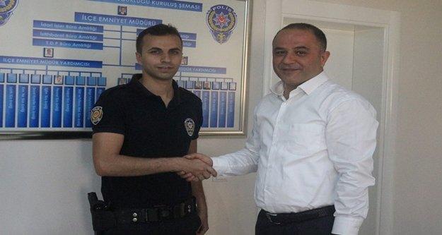 YILIN POLİSİNİ ALTINLA ÖDÜLLENDİRDİ
