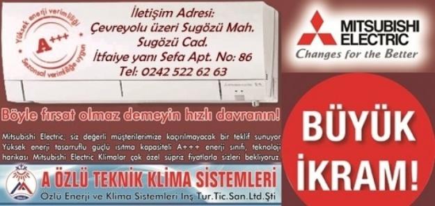 ÖZLÜ TEKNİK#039;TEN BÜYÜK İKRAM!