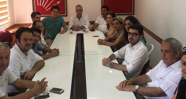 AKP'DEN CHP'YE GEÇMİŞ OLSUN ZİYARETİ