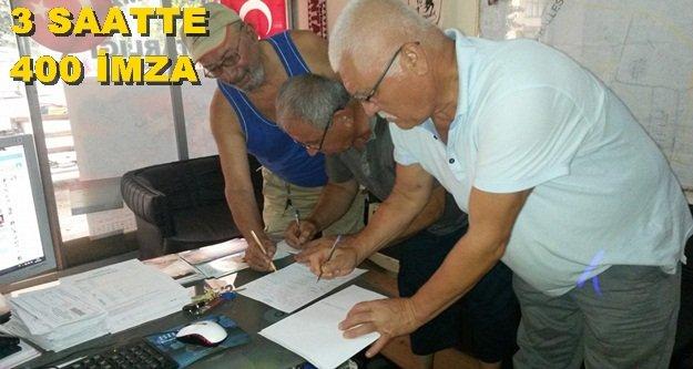 HALKI İMZA KAMPANYASINA DAVET ETTİ