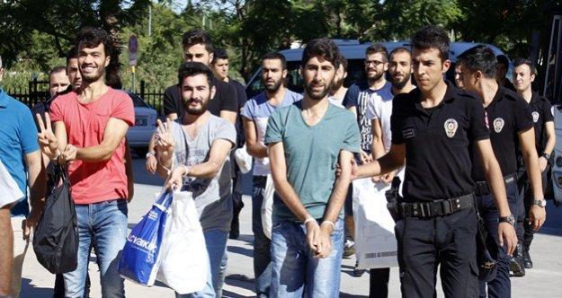 PKK PROPAGANDASINDAN 8 ÜNİVERSİTELİ GÖZALTINDA