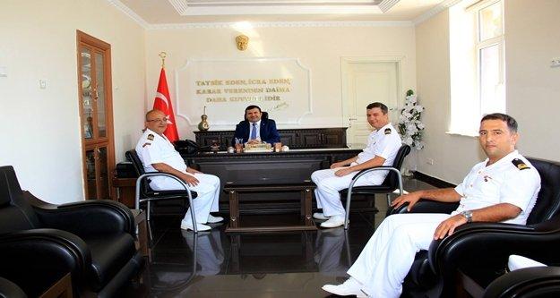 Akdeniz Sahil Güvenlik Komutanı'ndan Tanrıseven'e Ziyaret