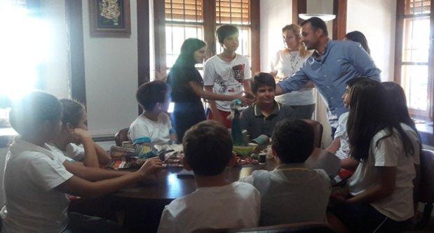 Bahçeşehir Alanya Okulları'ndan anlamlı ziyaret