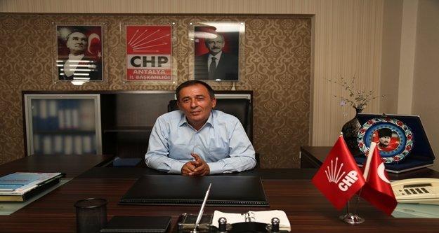 CHP Antalya İl Başkanlığına Mustafa Erdem getirildi