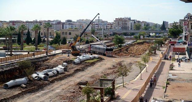 Düden tünel geçişli kavşak projesi hızla ilerliyor
