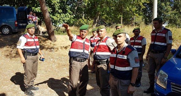 Jandarma, kayıp kadın için seferber oldu