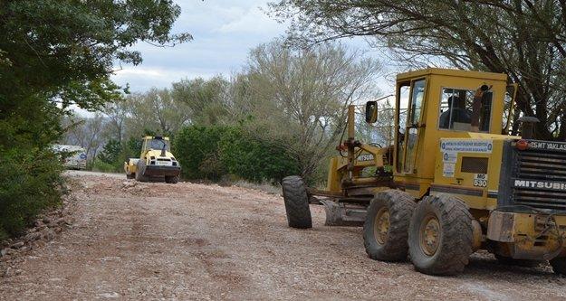 Kırkpınar ve Küçükköyyolu asfalta hazırlanıyor