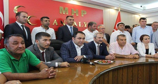 Türkdoğan bayramlaşmaya katıldı