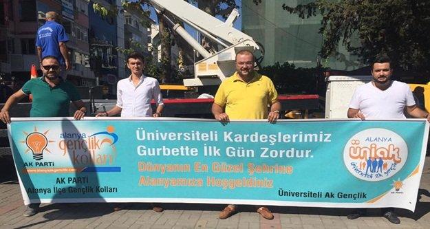 Üniversitelilere AK Parti şefkati