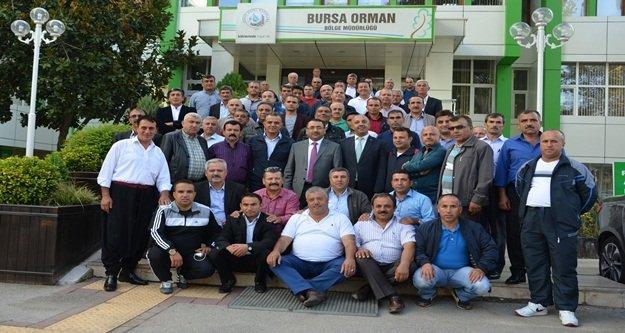 Alanyalı muhtarlar Bursa'da