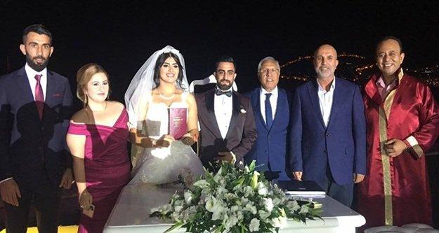 Alanyaspor'u buluşturan düğün