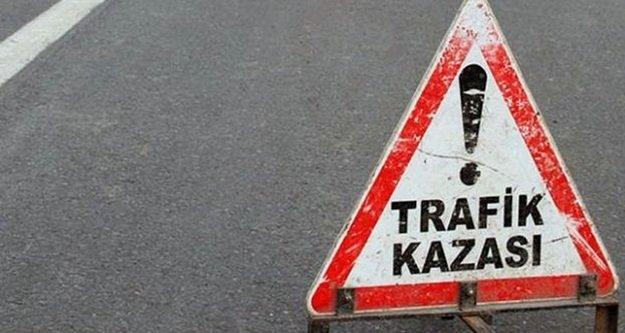 Antalya'da trafik kazası:1 ölü