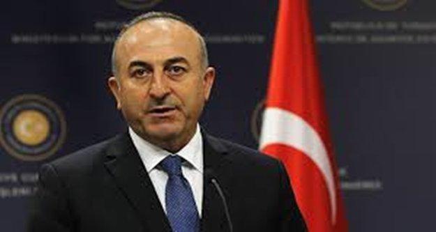 """Bakan Çavuşoğlu: 'Musul operasyonu yerel güçler tarafından hayata geçirilmeli"""""""
