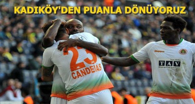 Fenerbahçe: 1 - Aytemiz Alanyaspor:1