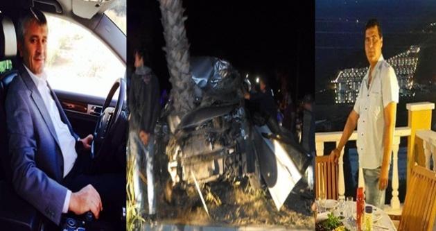 Gazipaşa'da feci kaza: 3 ölü var