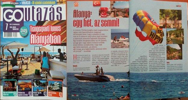 Macaristan Alanya'yı okudu
