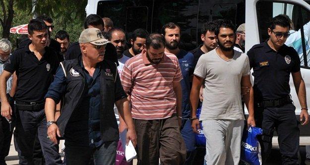 Suriye uyruklu DAEŞ üyesi 8 kişi tutuklandı