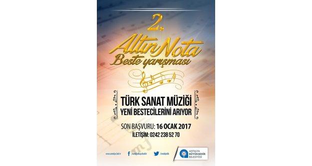 2. Altın Nota Beste Yarışması başvuruları başladı