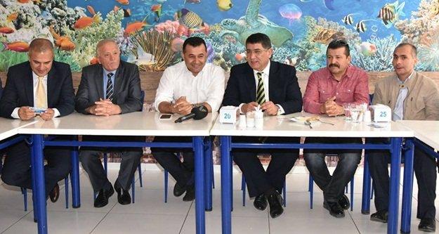 AESOB toplantısı Alanya'da yapıldı
