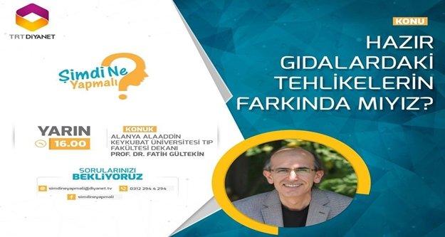 ALKÜ Tıp Fakültesi Dekanı TRT'nin konuğu