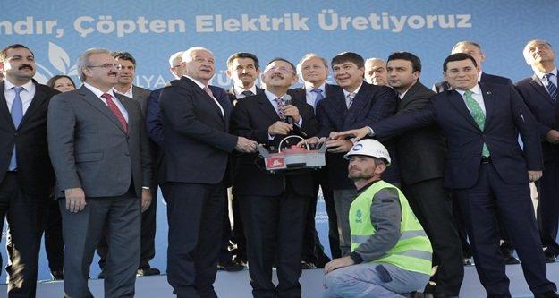 'Antalya'nın çöpünü altın yapıyoruz'