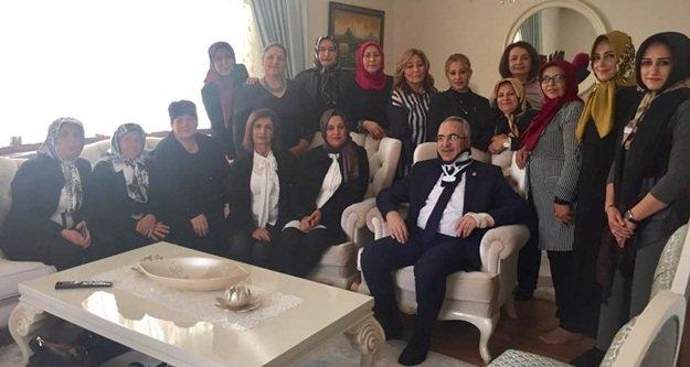 Aydın'a Alanya'dan geçmiş olsun ziyareti