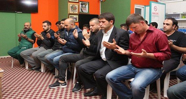 Aytemiz Alanyaspor için dua ettiler