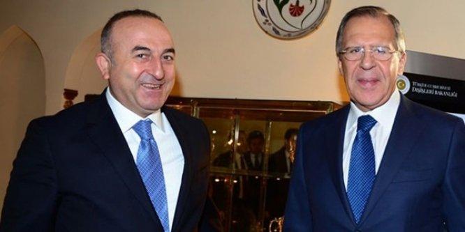Çavuşoğlu'nun Rusya'dan isteği