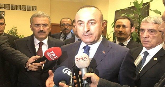 Çavuşoğlu'ndan tutuklamalara ilk yorum