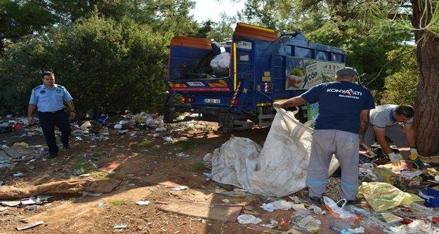Çöp toplayıcıların depolarına operasyon