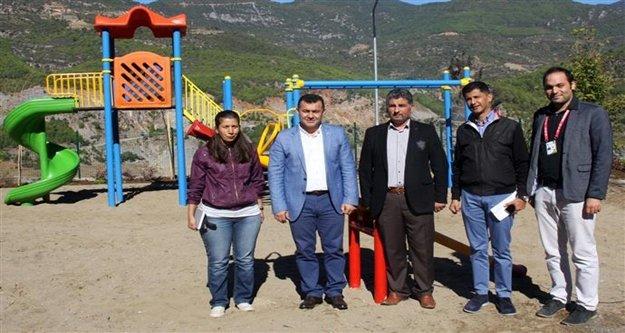 Kuzyaka Mahallesi'ne çocuk parkı