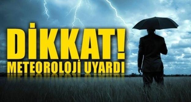 Alanya için çok kuvvetli yağış uyarısı