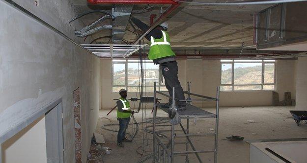 Mühendislik Fakültesi inşaatı hızla ilerliyor