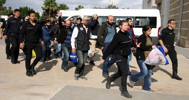 PKK/KCK operasyonuna 7 tutuklama
