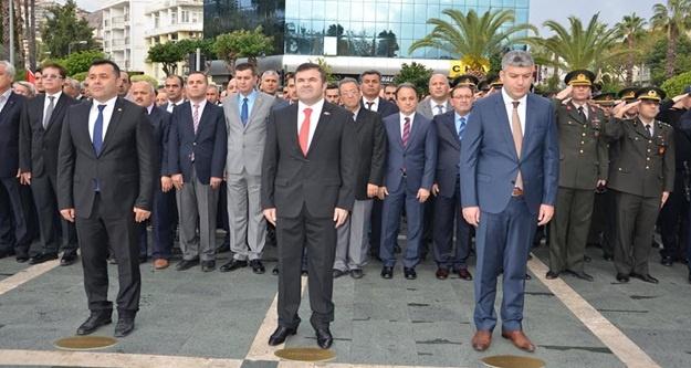 Ulu Önder Atatürk Törenlerle Anıldı